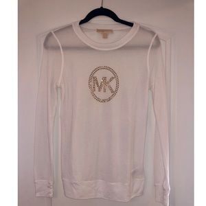 Womens Michael Kors Thermal Long Sleeve Size S